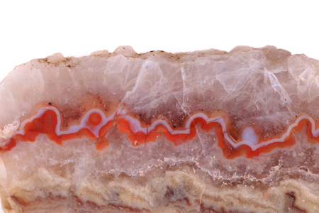 onyx: brown agate texture from the czech republic Stock Photo