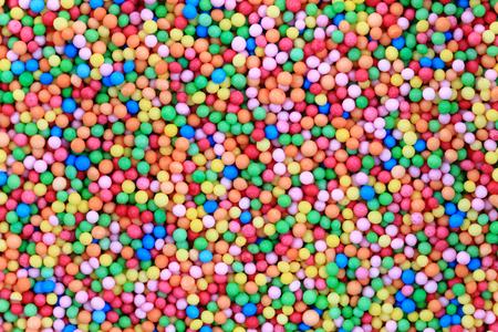 multiple: sweet color spheres as nice food background