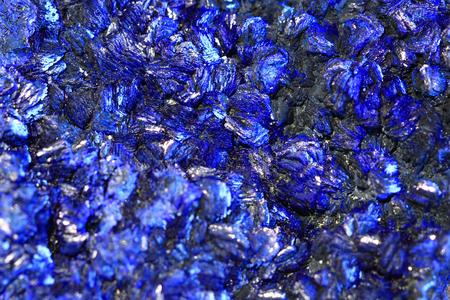 아주 좋은 자연 배경으로 azurite 미네랄 질감