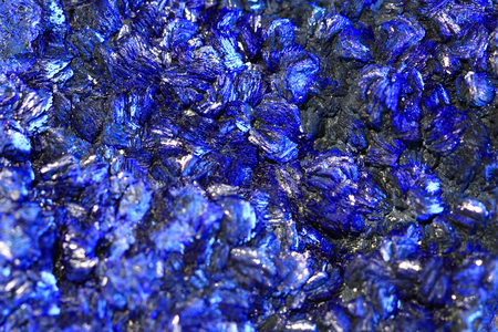 azurite mineral texture as very nice natural background