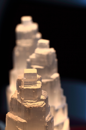 selenite mineral texture as nice natural background