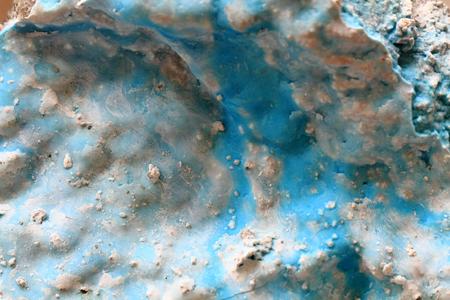 aragonite: zeiringite mineral texture - aragonite natural background Stock Photo
