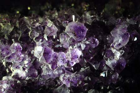 violet amethyst mineral texture as nice background