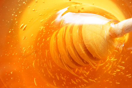 fresh honey as very nice food background Banque d'images