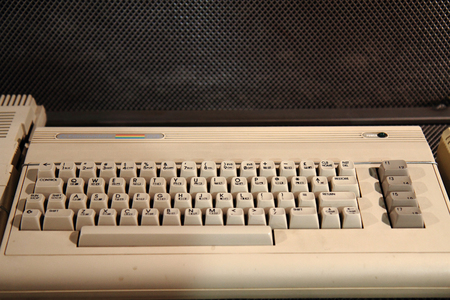 more than 30 years old computer from my childhood Stok Fotoğraf