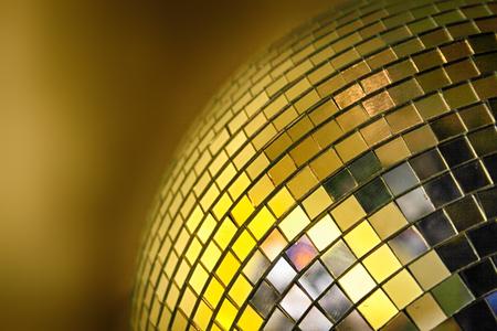 flashy: disco sphere from night bar in Ostrava on stodolni street Stock Photo