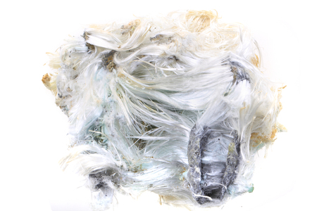 unknown asbestos mineral as nice mineral background Stockfoto