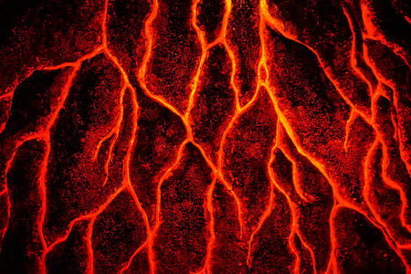 abstract magma texture as nice hot background Фото со стока