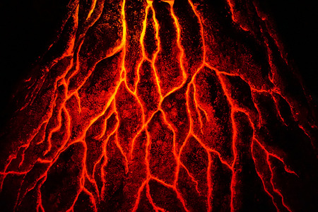 abstract magma texture as nice hot background Stock Photo