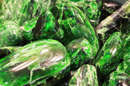 green chrome-diopside mineral as very nice natural background