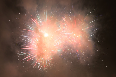 color fireworks texture as very nice background Banco de Imagens