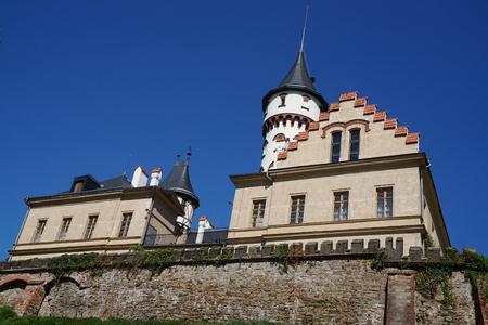 old Radun castle in the czech republic as nice architecture