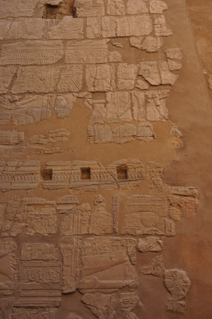 hieroglyph texture from Egypt karnak as very nice background Archivio Fotografico