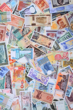 money different banknotes as very nice business background