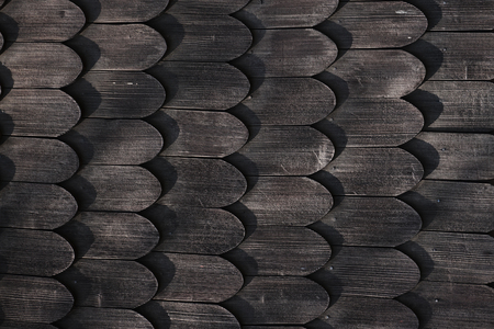 old wooden roof texture as nice history background