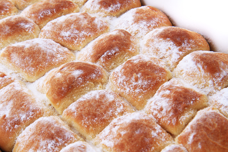 typical czech cake with plum jam as nice food background