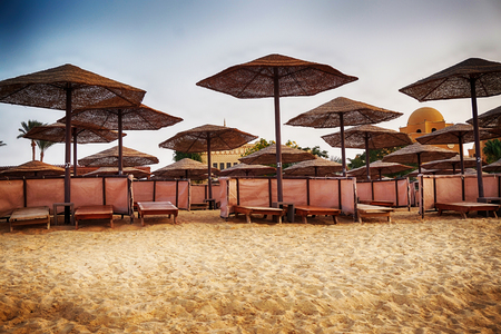 beach in the egypt as very nice background Stock Photo