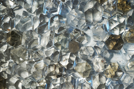 white crystal mineral texture as very nice background