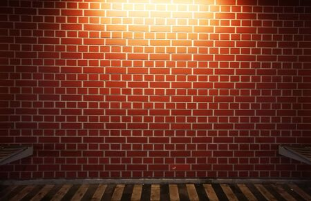 new brick wall with light as very nice background