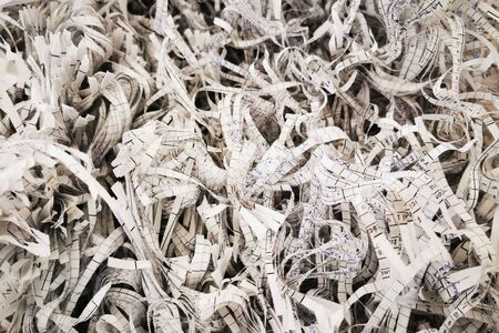 shredding paper texture as very nice background