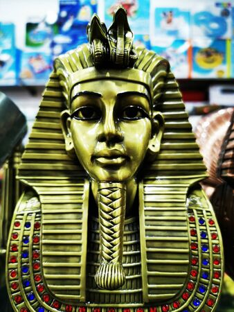 tutankhamun statue as nice souvenir from egypt