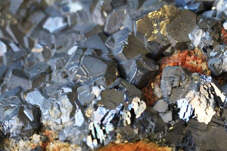 galenite mineral texture as very nice natural background