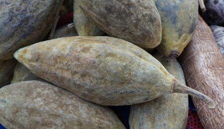 fresh baobab fruit as new natural food