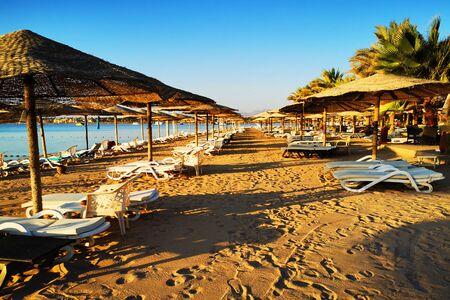 Strand in Ägypten als sehr schöner Hintergrund