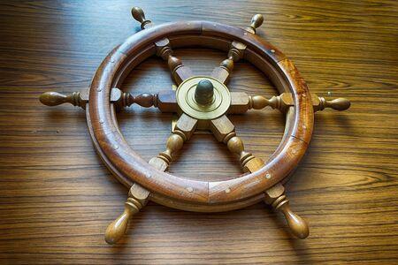 old yacht rudder as nice sailor symbol