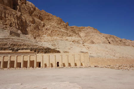 temple of queen Hatsepsut in the Egypt Редакционное