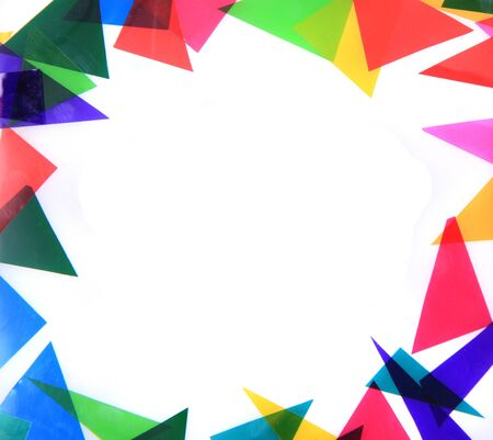 abstract color triangles texture as very nice background