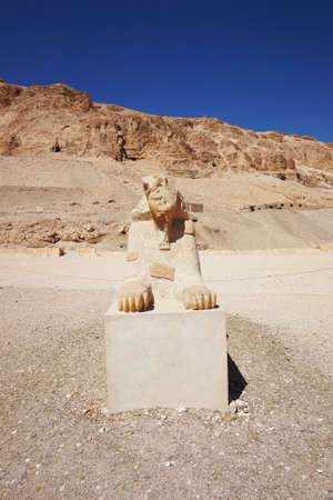 old Temple of Hatshepsut in the Egypt