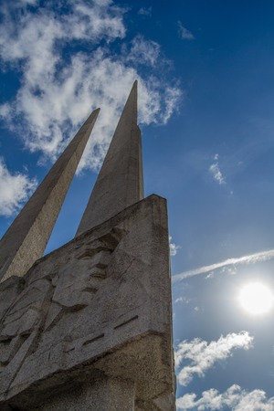 Monument to Soviet soldiers. Photo