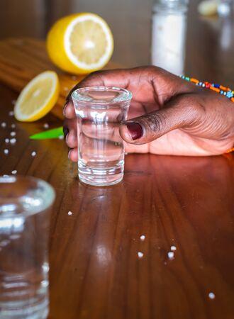 Break out the shot glasses, salt and lemon, barman, it's shooter time
