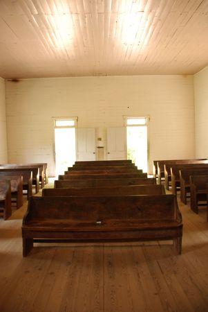 Old empty chapel photo