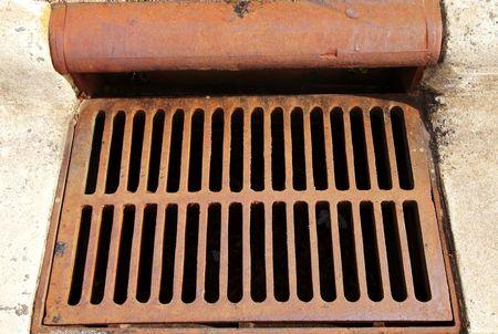 slits: Gutter drain
