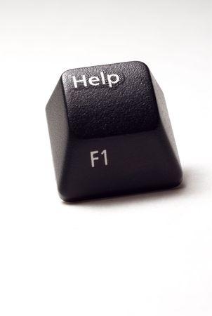 modificar: un bot�n de ayuda de teclado de computadora