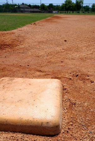 infield: A baseball bag base on little league infield