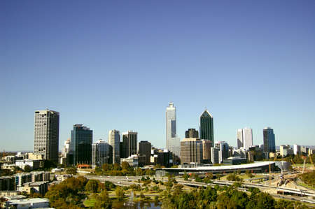 perth: Perth Cityscape as viewed from Kings Park