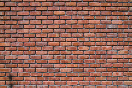 Brick Wall Close up. Texture of Brick Wall.