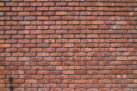 red brick wall: Brick Wall Close up. Texture of Brick Wall.