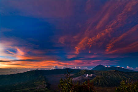Active Volcano Mount Bromo