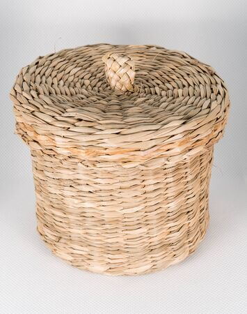 Small wicker basket to put objects