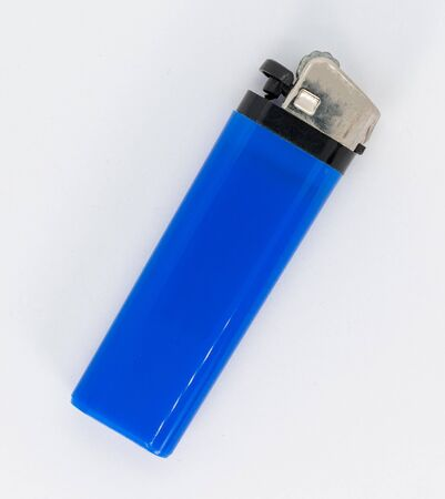 With this blue lighter you can light a cigar or whatever you want, but better quit smoking
