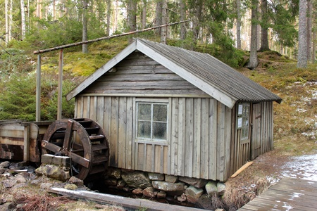 Watermill in Sweden photo
