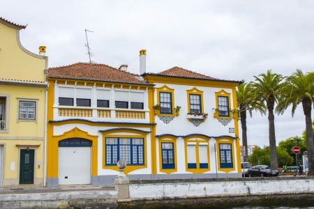 Urban architecture, Aveiro, Portugal photo