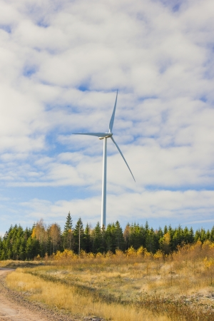 An electric windmill Stock Photo - 17676235