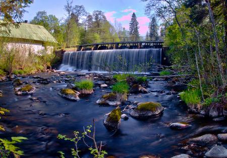Ryfors waterfall