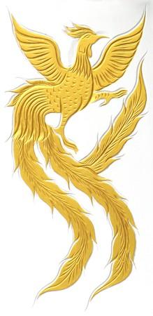 cisnes: Estatua de Swan y drag�n