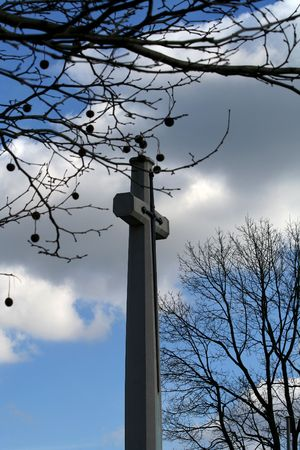 crux: Autumn in Canadian war cemetery, Apeldoorn, Holland